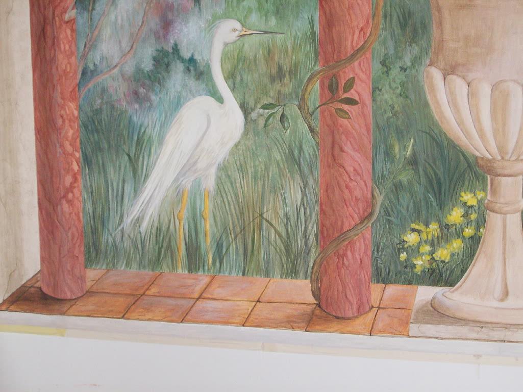 Barbara galizia murales muri dipinti decorazioni di - Decorazioni muri esterni ...