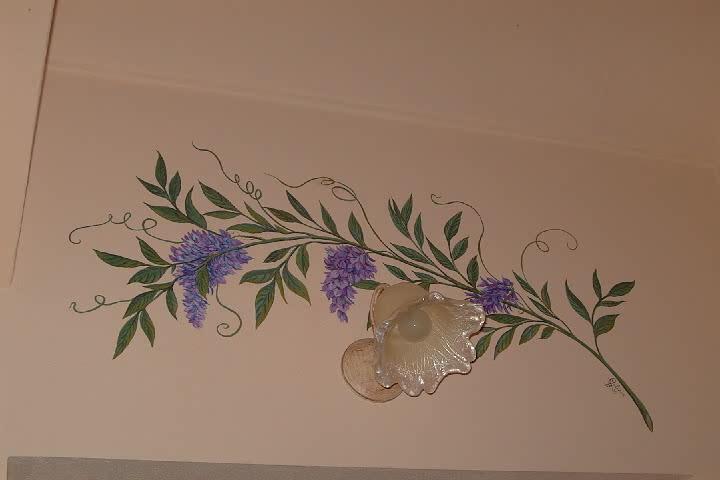 Barbara galizia murales muri dipinti decorazioni di - Decorazione muri interni ...